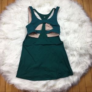 Lululemon Evergreen Tank Top Built in Sports Bra 8